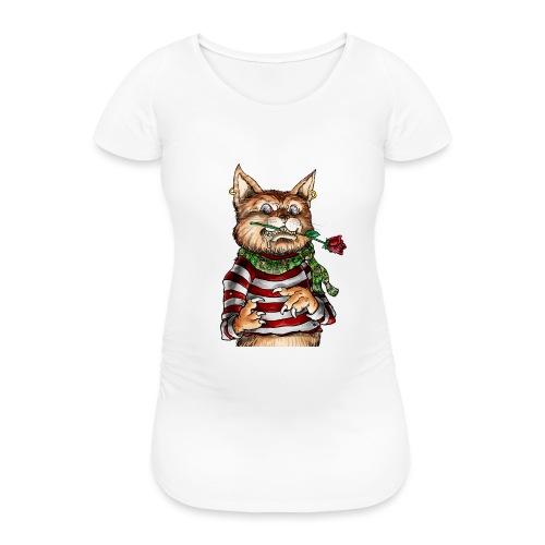 T-shirt - Crazy Cat - T-shirt de grossesse Femme