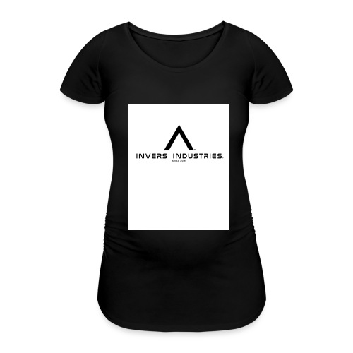 Invers Industries Full White - Women's Pregnancy T-Shirt