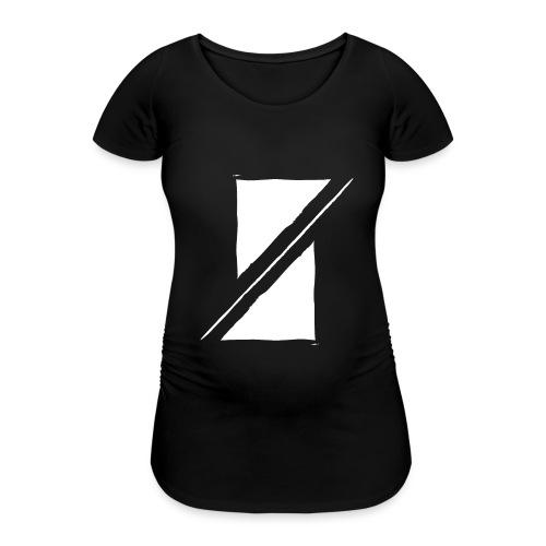 Muzik & Friendz Records Logo - Vrouwen zwangerschap-T-shirt