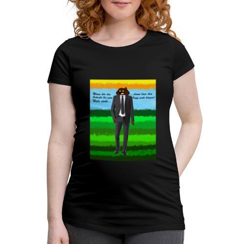 scheiß design - Frauen Schwangerschafts-T-Shirt
