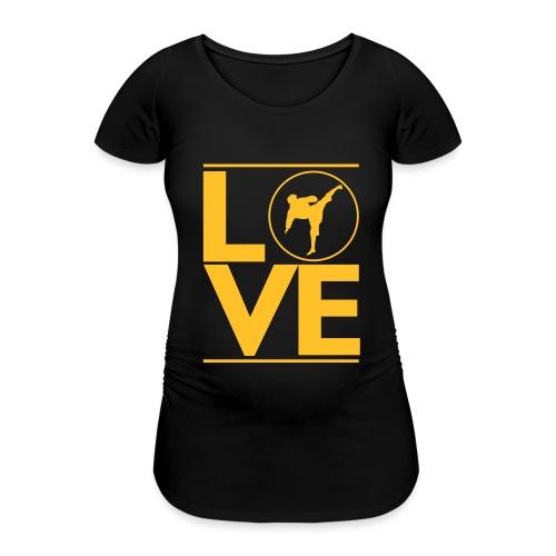 Love karate - T-shirt de grossesse Femme