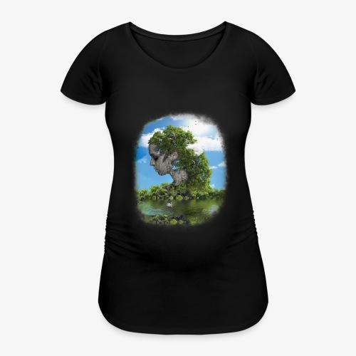 Land of Id - Gravid-T-shirt dam