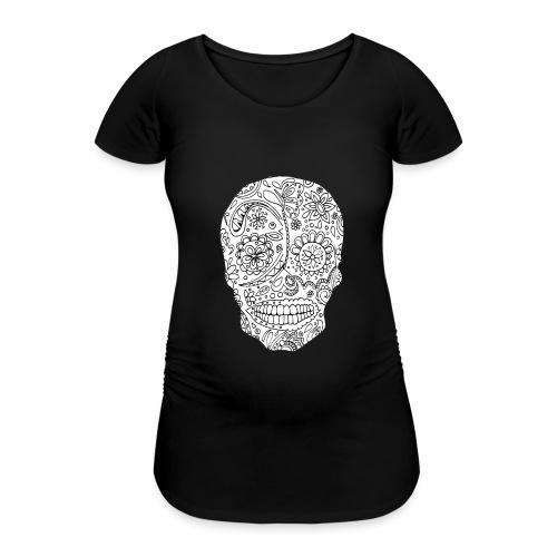 Sugar Skull - T-shirt de grossesse Femme