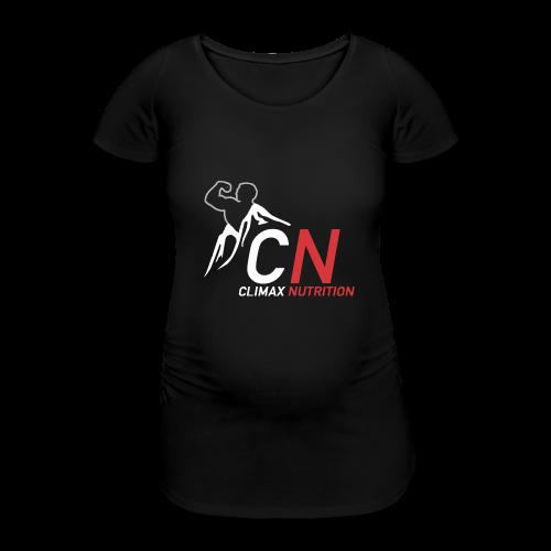 Climax Nutrition Logo - Women's Pregnancy T-Shirt