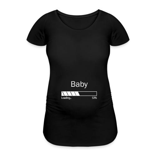babyloadingwhite - T-shirt de grossesse Femme