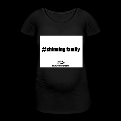shinning family - T-shirt de grossesse Femme