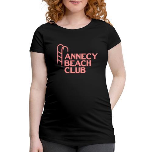 Annecy beach club - natation - T-shirt de grossesse Femme