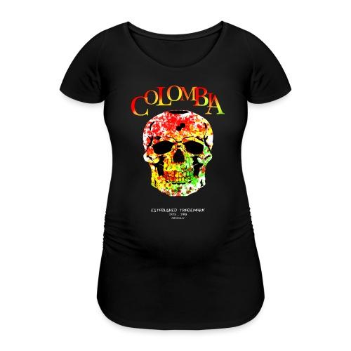Farbentot - Frauen Schwangerschafts-T-Shirt