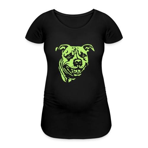 Staffbull negativ - Frauen Schwangerschafts-T-Shirt