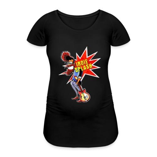 Indie Splash - Frauen Schwangerschafts-T-Shirt