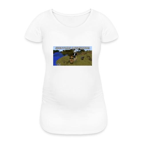 minecraft - Women's Pregnancy T-Shirt