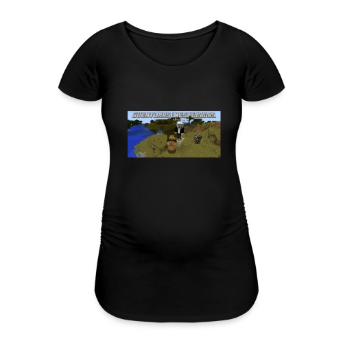 minecraft - Women's Pregnancy T-Shirt