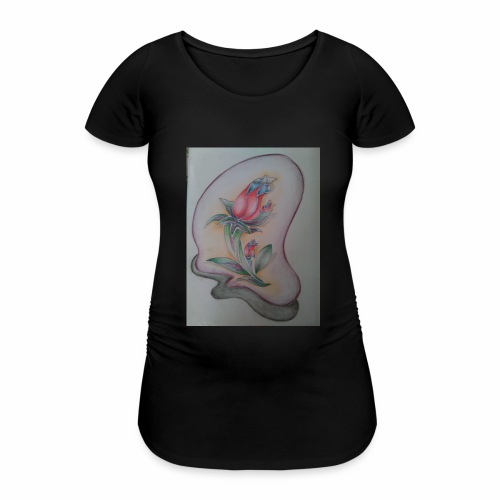 fiore magico - Maglietta gravidanza da donna
