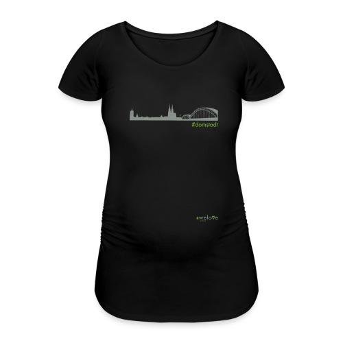 welove KÖLN #domstadt - Frauen Schwangerschafts-T-Shirt