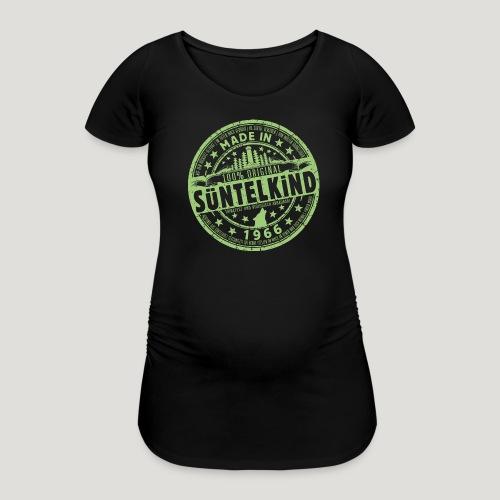 SÜNTELKIND 1966 - Das Süntel Shirt mit Süntelturm - Frauen Schwangerschafts-T-Shirt