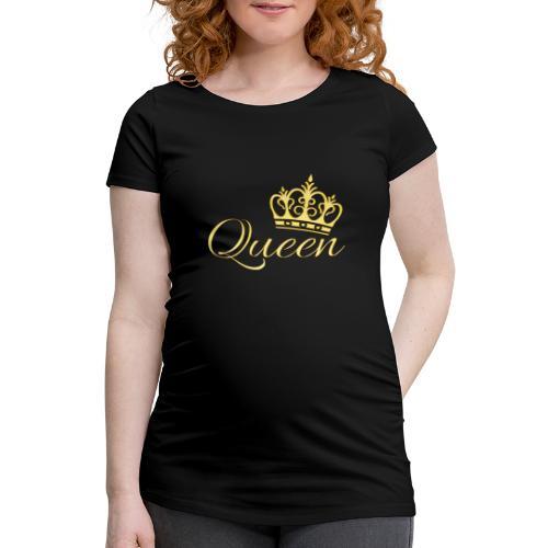Queen Or -by- T-shirt chic et choc - T-shirt de grossesse Femme