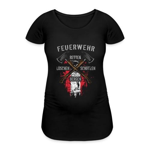 Retten Löschen Bergen Schützen - Frauen Schwangerschafts-T-Shirt
