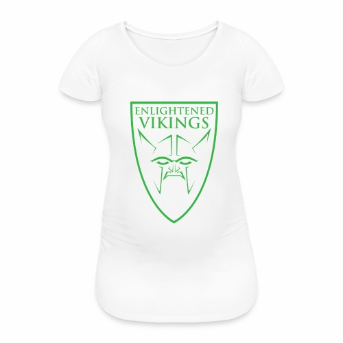 Enlightened Vikings (Org) - T-skjorte for gravide kvinner