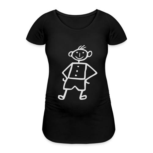 me-white - Frauen Schwangerschafts-T-Shirt