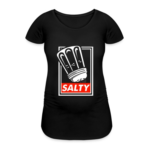 Salty white - Women's Pregnancy T-Shirt