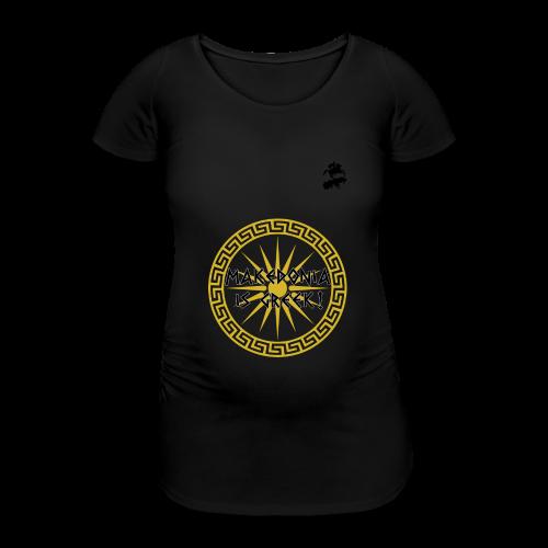 Makedonia is Greek! - Women's Pregnancy T-Shirt