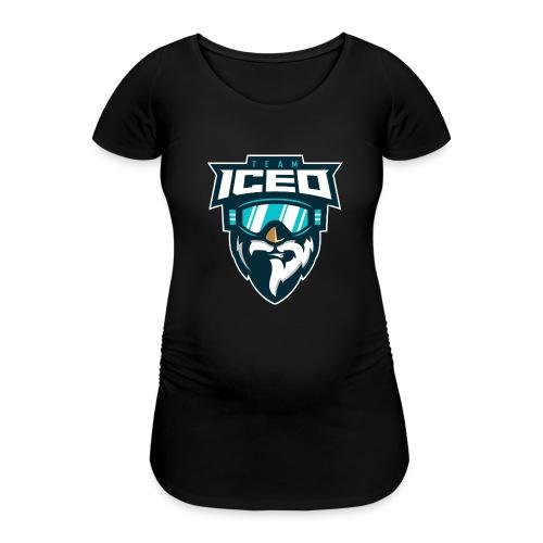 Team-ICED - Frauen Schwangerschafts-T-Shirt