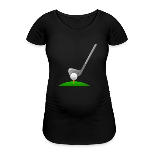 Golf Ball PNG - Camiseta premamá