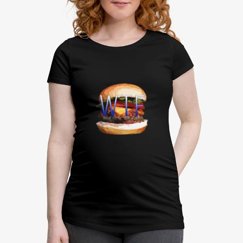 Where's my food - T-shirt de grossesse Femme