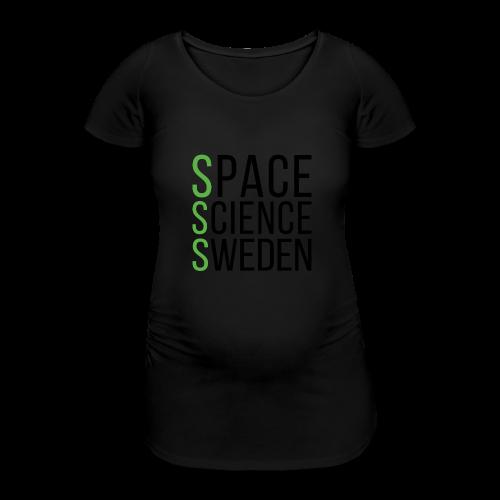 Space Science Sweden - svart - Gravid-T-shirt dam