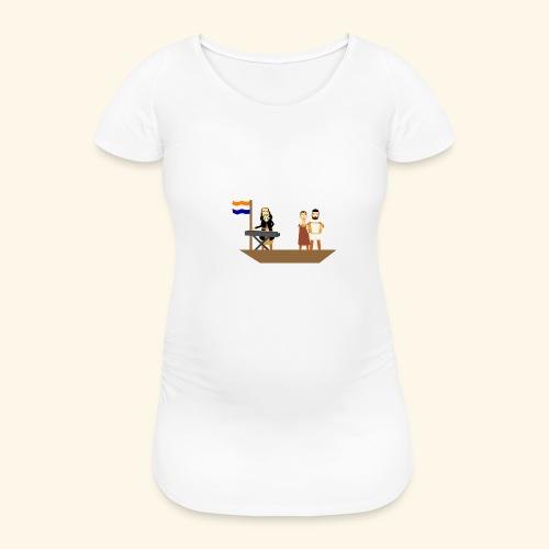 Iedereen is van de wereld... - Vrouwen zwangerschap-T-shirt