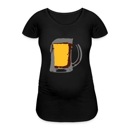 Bier pul - Vrouwen zwangerschap-T-shirt
