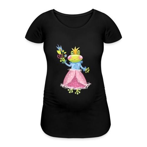 Prinzessin Frosch - Frauen Schwangerschafts-T-Shirt