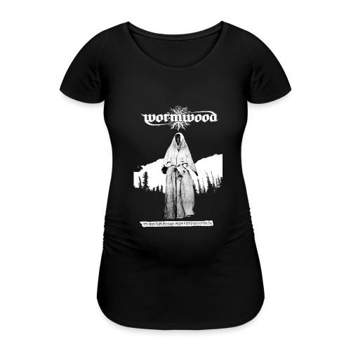 Women's Witch Print - Women's Pregnancy T-Shirt