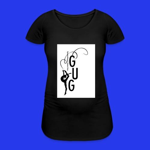GUG logo - Frauen Schwangerschafts-T-Shirt