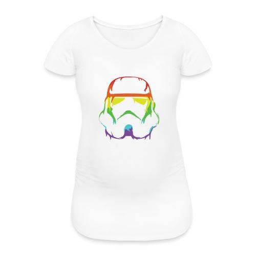 Pride Trooper - simple - Naisten äitiys-t-paita