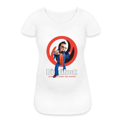 Räyhärock musta - Naisten äitiys-t-paita