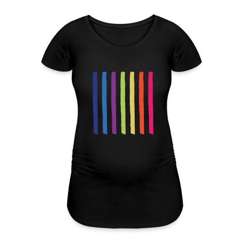Lines - Women's Pregnancy T-Shirt