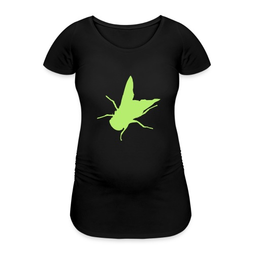 fliege - Frauen Schwangerschafts-T-Shirt