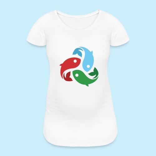De fiskede fisk - Vente-T-shirt