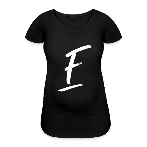 Radio Fugue F Blanc - T-shirt de grossesse Femme