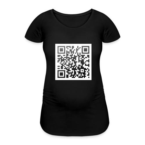 Ich hab Augen - Frauen Schwangerschafts-T-Shirt