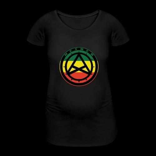 Nether Crew Black\Green\Yellow\Red Hoodie - Maglietta gravidanza da donna