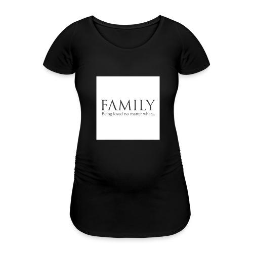 36d_family - T-skjorte for gravide kvinner