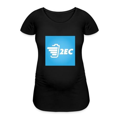 2EC Kollektion 2016 - Frauen Schwangerschafts-T-Shirt