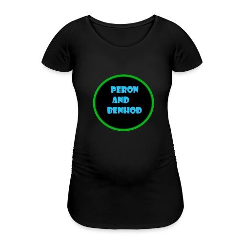 peron and benhod - Gravid-T-shirt dam