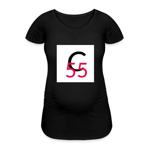 C55 - Frauen Schwangerschafts-T-Shirt