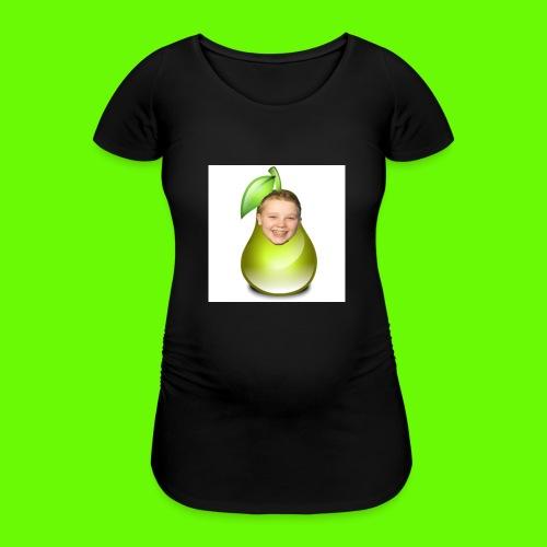 button met tjeerd als peertje! - Vrouwen zwangerschap-T-shirt