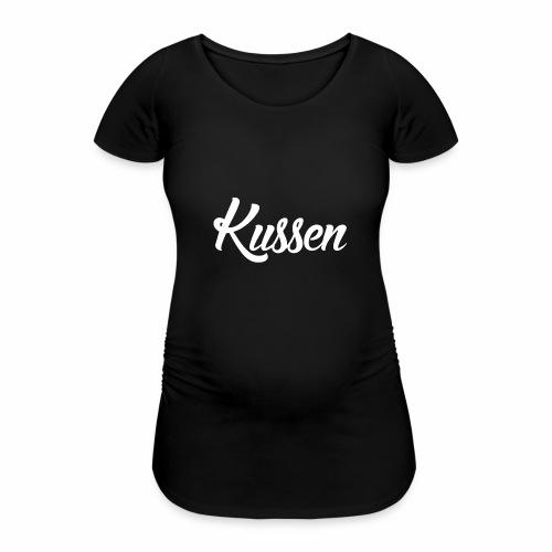 Kussen.website kussensloop - Vrouwen zwangerschap-T-shirt