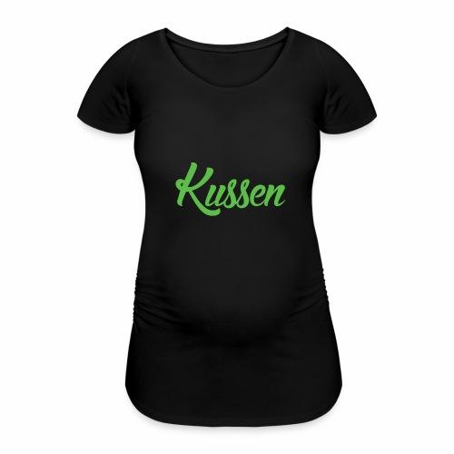 Kussen.website kussensloop groen - Vrouwen zwangerschap-T-shirt