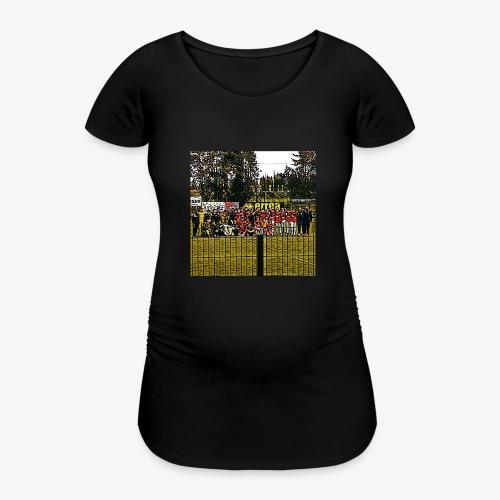 Footbal Match Squadre Calcio - Maglietta gravidanza da donna